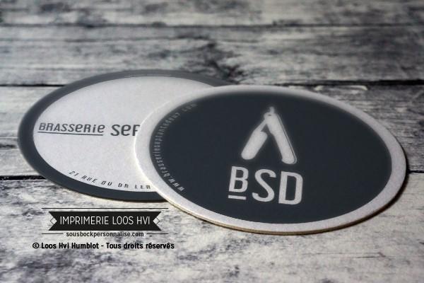 Dessous de verre pour BSD