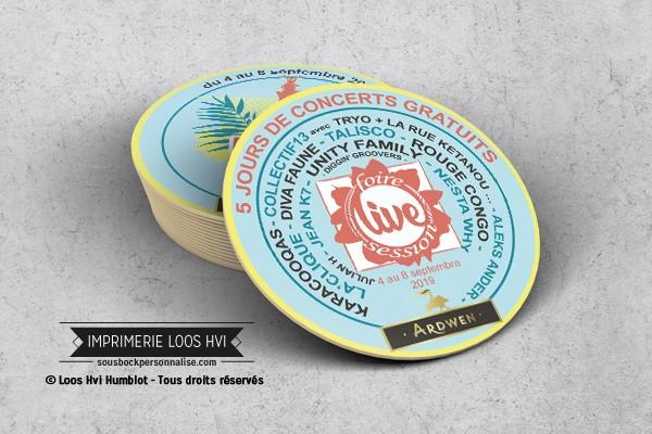 Dessous de verre Sous-bock imprimé personnalisé pour Ardwen Sedan