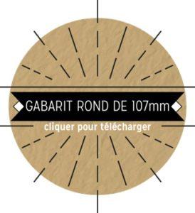 Sous bock rond diamètre 107 par les Imprimeries Loos Hvi Humblot